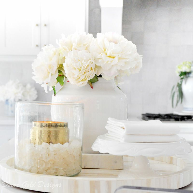Ideas for Kitchen Counter Styling - Decor Gold Designs