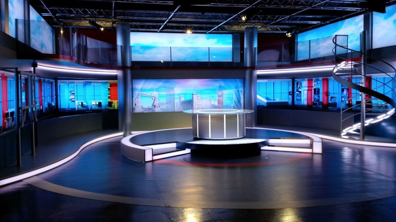 Loveworld television studios in london love the led tv Home architecture tv show