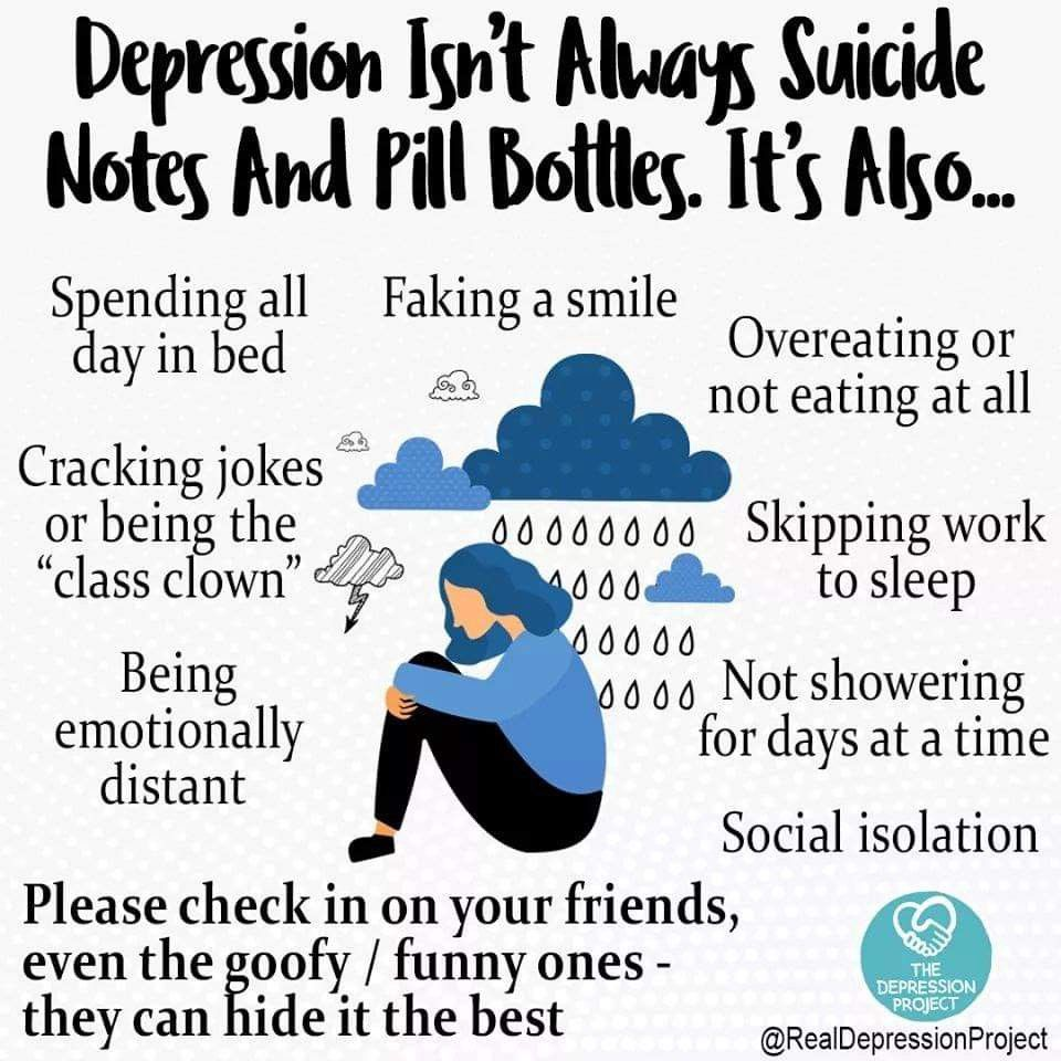Sad Stress Quotes 8 Myths about Depression