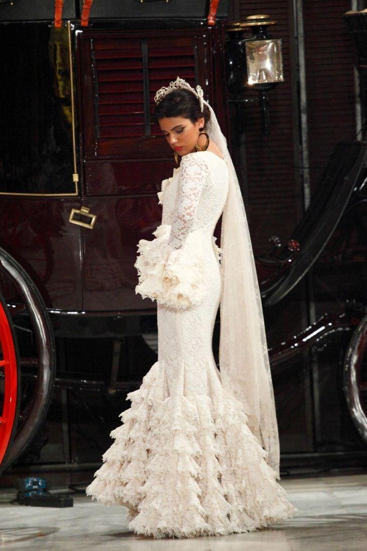 Vestidos de novia estilo flamenco