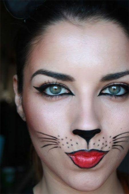 Halloween Cat Makeup   Halloween Cat Makeup   Pinterest ...