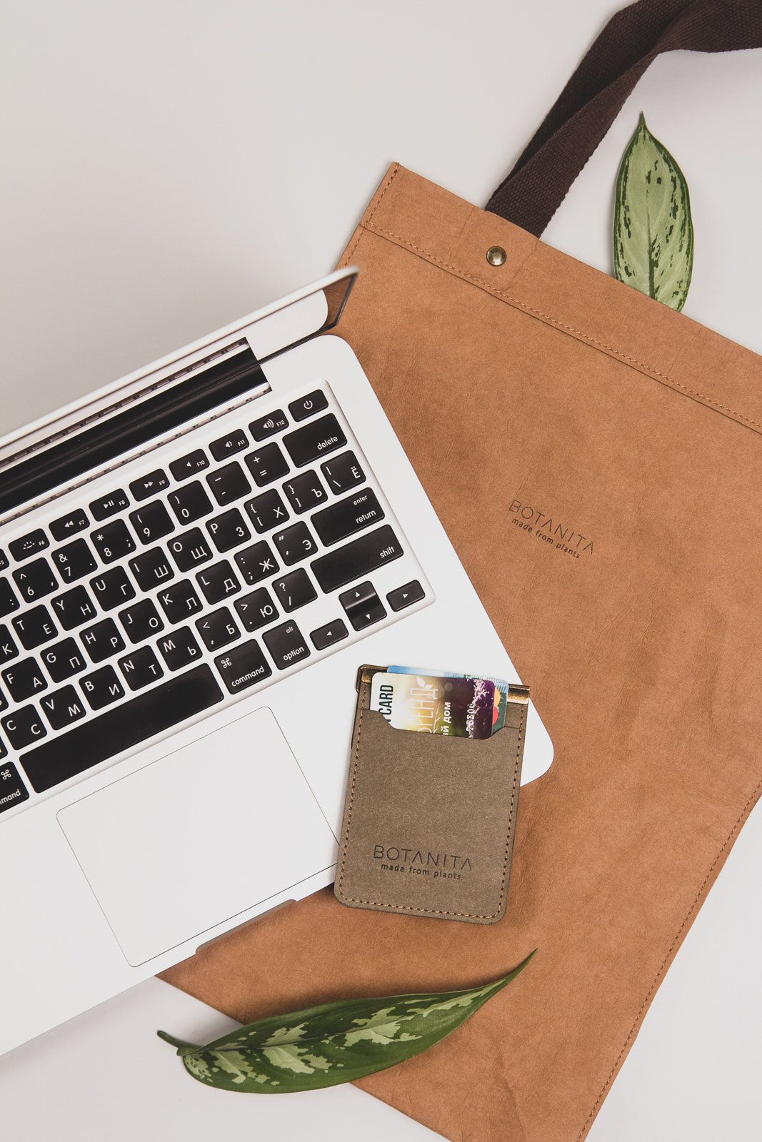 Macbook case 13 and 15 inches ecofriendly vegan leather