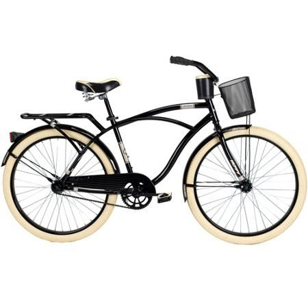 26 Huffy Nel Lusso Men S Cruiser Bike Piano Black Walmart Com Cruiser Bike Bicycle Vintage Bikes