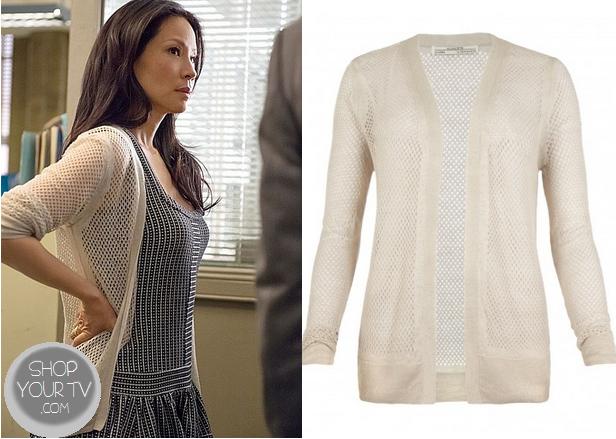 Shop Your Tv: Elementary: Season 2 Episode 9 Joan's White Knit ...