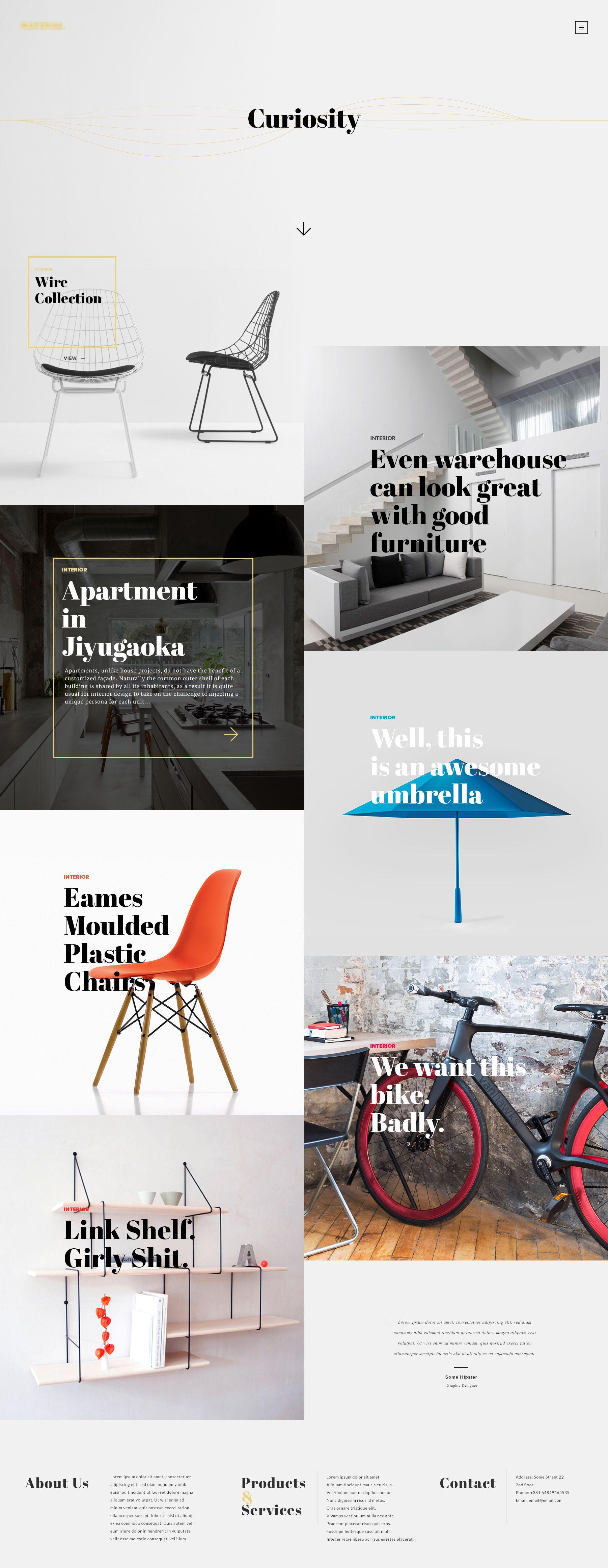 Pin De Valerie Rausch En Site Design Pinterest Portafolio  # Muebles Pagina Web