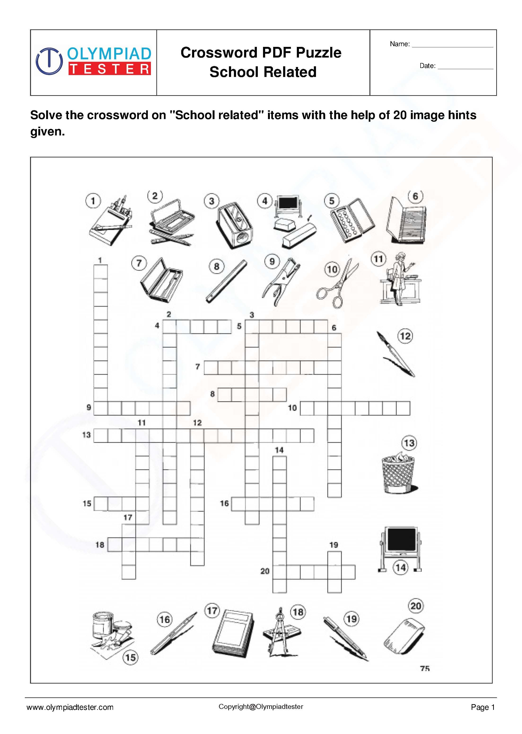 Science Crosswords