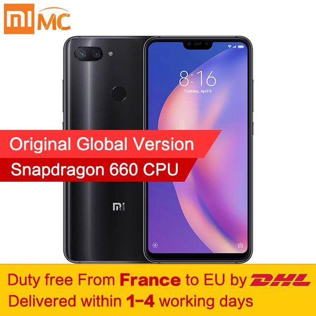 Global Version Xiaomi Mi 8 Lite 6GB 128GB Smartphone Deep