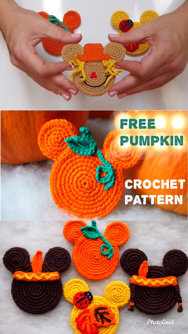 The Pumpkin Mouse Free crochet pattern