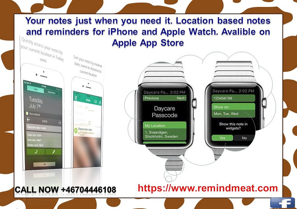 https://flic.kr/p/MfgpFL | How to Use Reminder App for iOS - RemindMeAt | Follow…