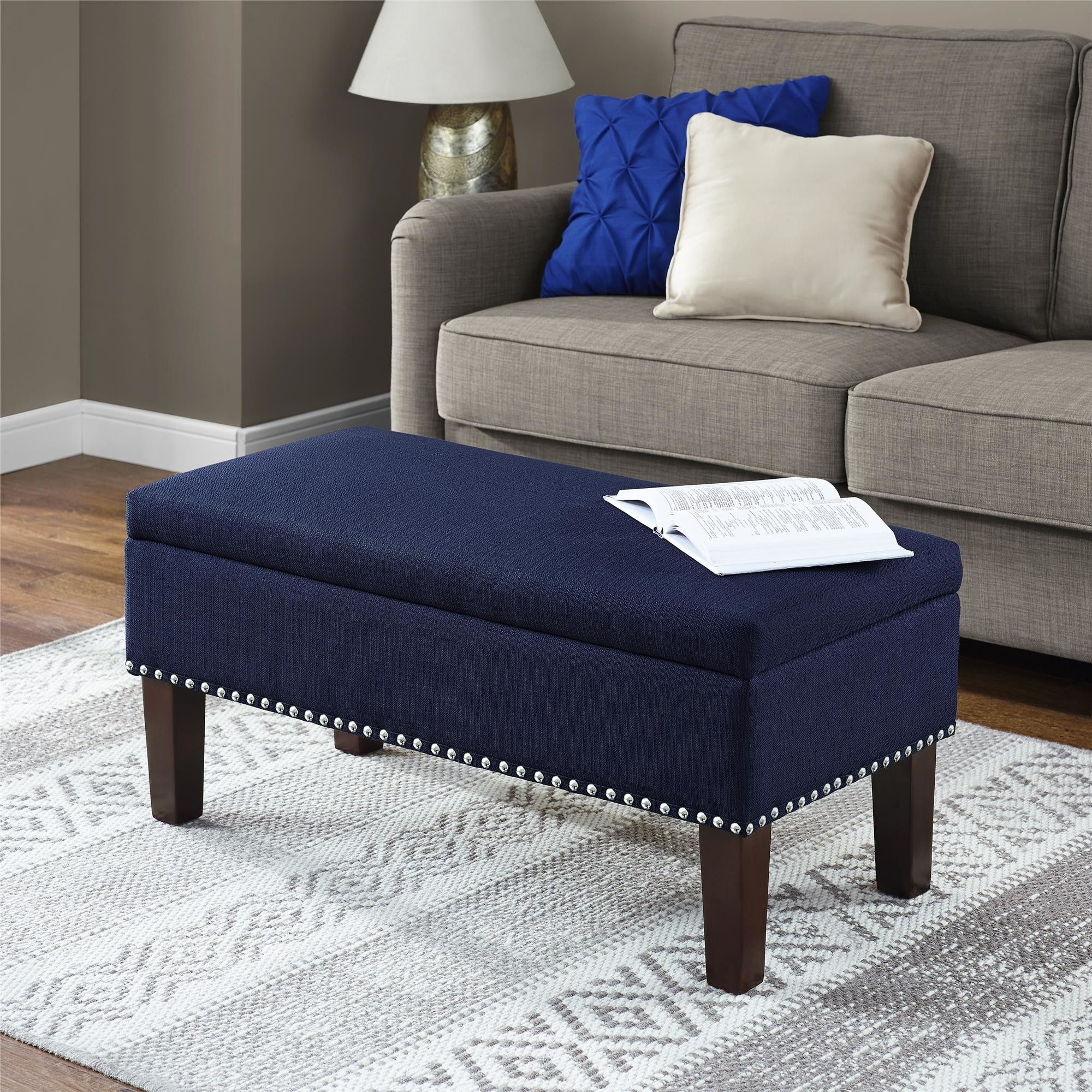 Marvelous Kasey Storage Ottoman Will Make A Great Addition To Your Alphanode Cool Chair Designs And Ideas Alphanodeonline