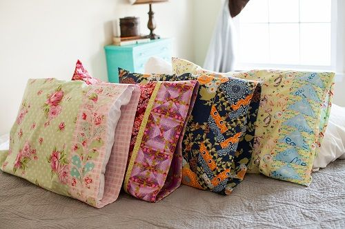 Making Pillowcases Alluring Make Pillowcases With These Fun And Easy Tutorials  Sewing Secrets Inspiration Design