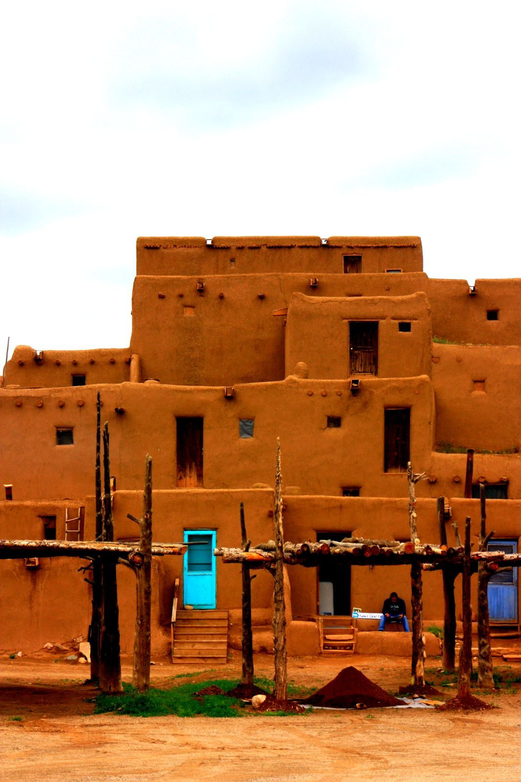 Taos Pueblo, New Mexico, Usa Stock Photo 98746439 ...  |Taos Pueblo New Mexico Usa