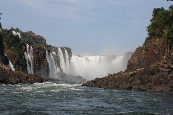Garganta del diablo. Iguazu (Argentina). Realizando el viaje de mis sueños.