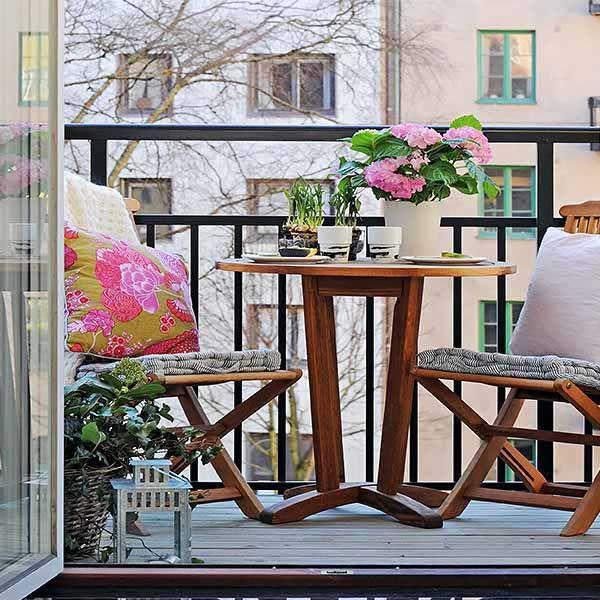 Colazione sul balcone? 17 idee per godersi la mattina