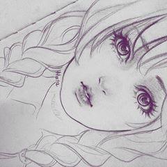 Full Pretty Girl Semirealistic Fanart Draw Art Artwork Artist Anime Manga Sketch Sketch Anime Sketch Anime Drawings Sketches Anime Face Drawing