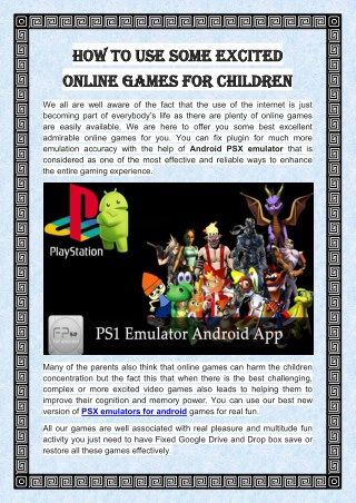 download ps1 games for android