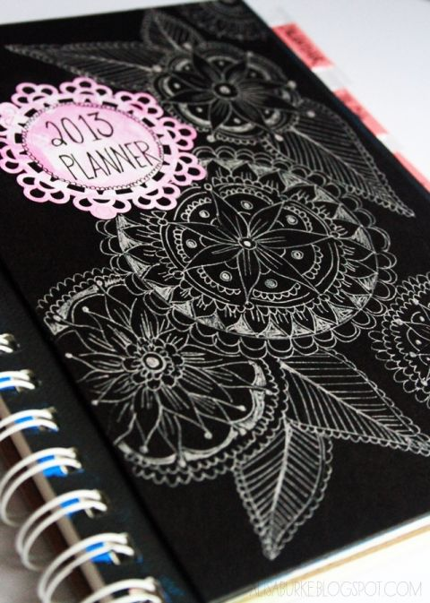 15 DIY Planners  Journals to Make or Print at Home Pinterest