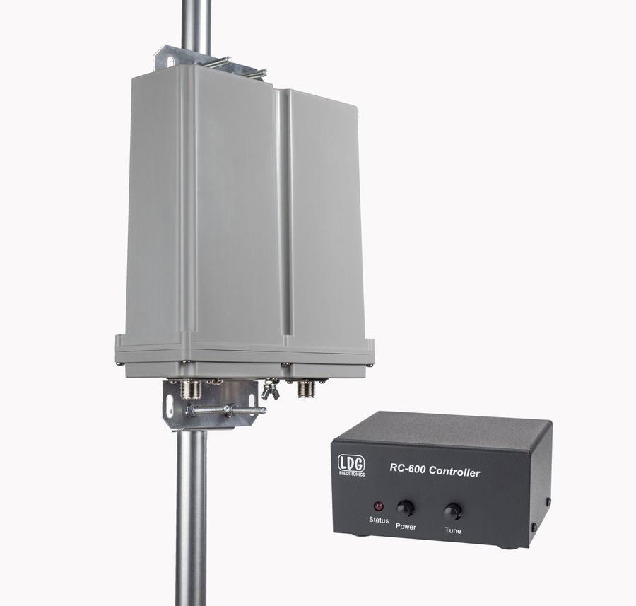 20' DX Vertical Antenna, OCF, No Radials + LDG RT-100 ATU for 80-6M
