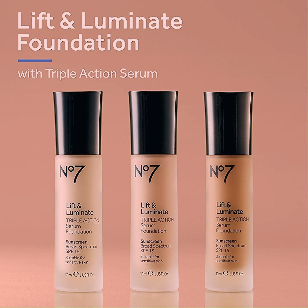No7 Lift & Luminate Triple Action Serum Foundation