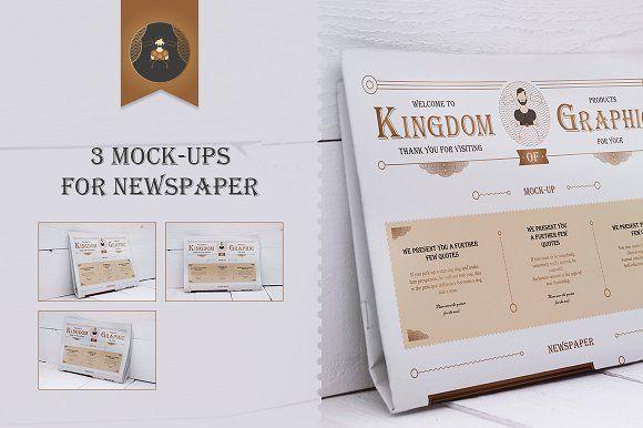Download Mock Up Newspaper Vol 2 Free Psd Mockups Templates Design Mockup Free Free Packaging Mockup