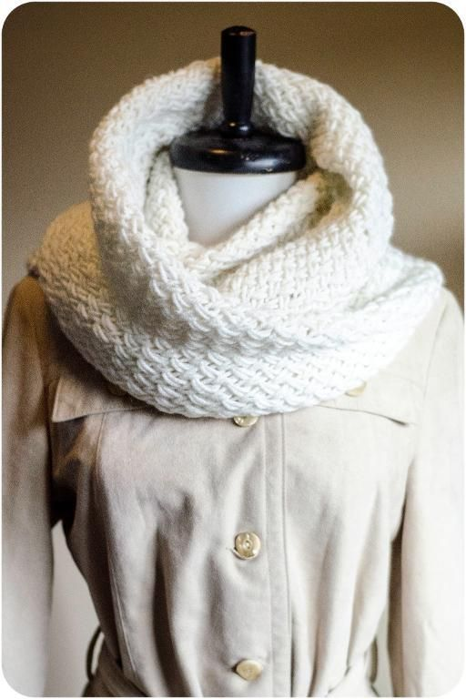 6) Name: \'Knitting : Snowdrift | KNIT SCARVES | Pinterest | Bufanda ...