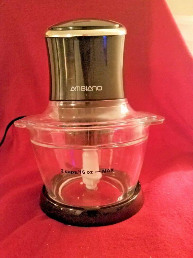 Ambiano Mini Food Chopper with Glass Bowl #Ambiano | eBay