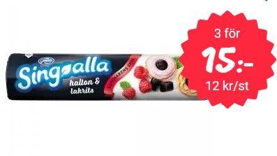 Singoalla Hallon  Lakrits Inlägget innehåller reklam genom annonslänkar för Matsmart Spara hela 28 50  på dessa utsökta klassiska kakor No...