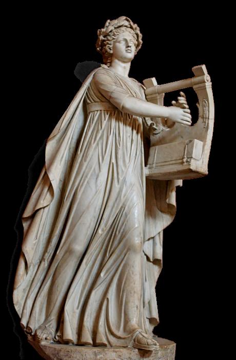 Apollo Musagetes Pio Clementino Inv310 25 Png Roman Statue Apollo Statue Greek Statue