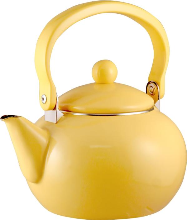 Lemon Yellow Teapot Or Tea Kettle Yellow Tea Vintage Tea Kettle Tea Kettle
