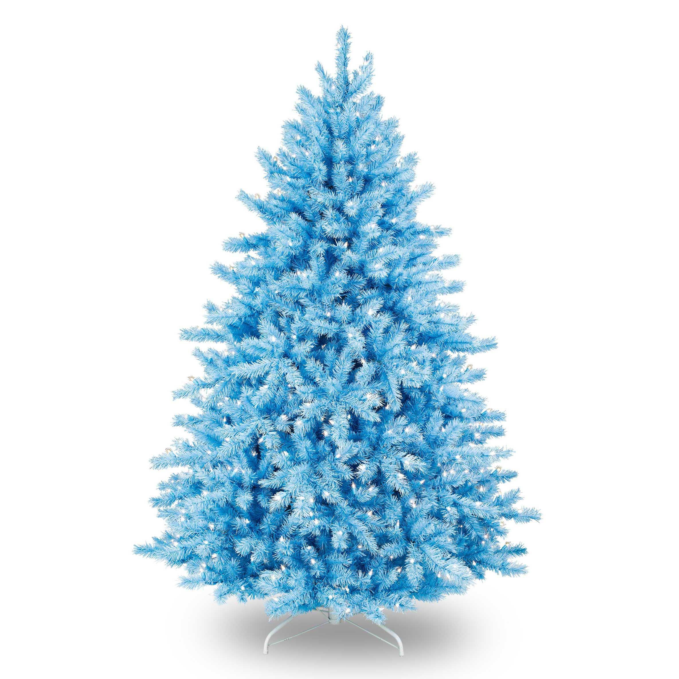 Blue christmas trees decorating ideas - Superior Light Blue Christmas Tree Part 5 Our Smurftastic Blue Christmas Tree For Easter