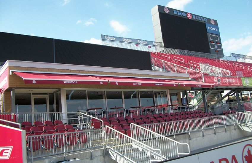 BMO Field   Bmo field, Retractable awning, Awning