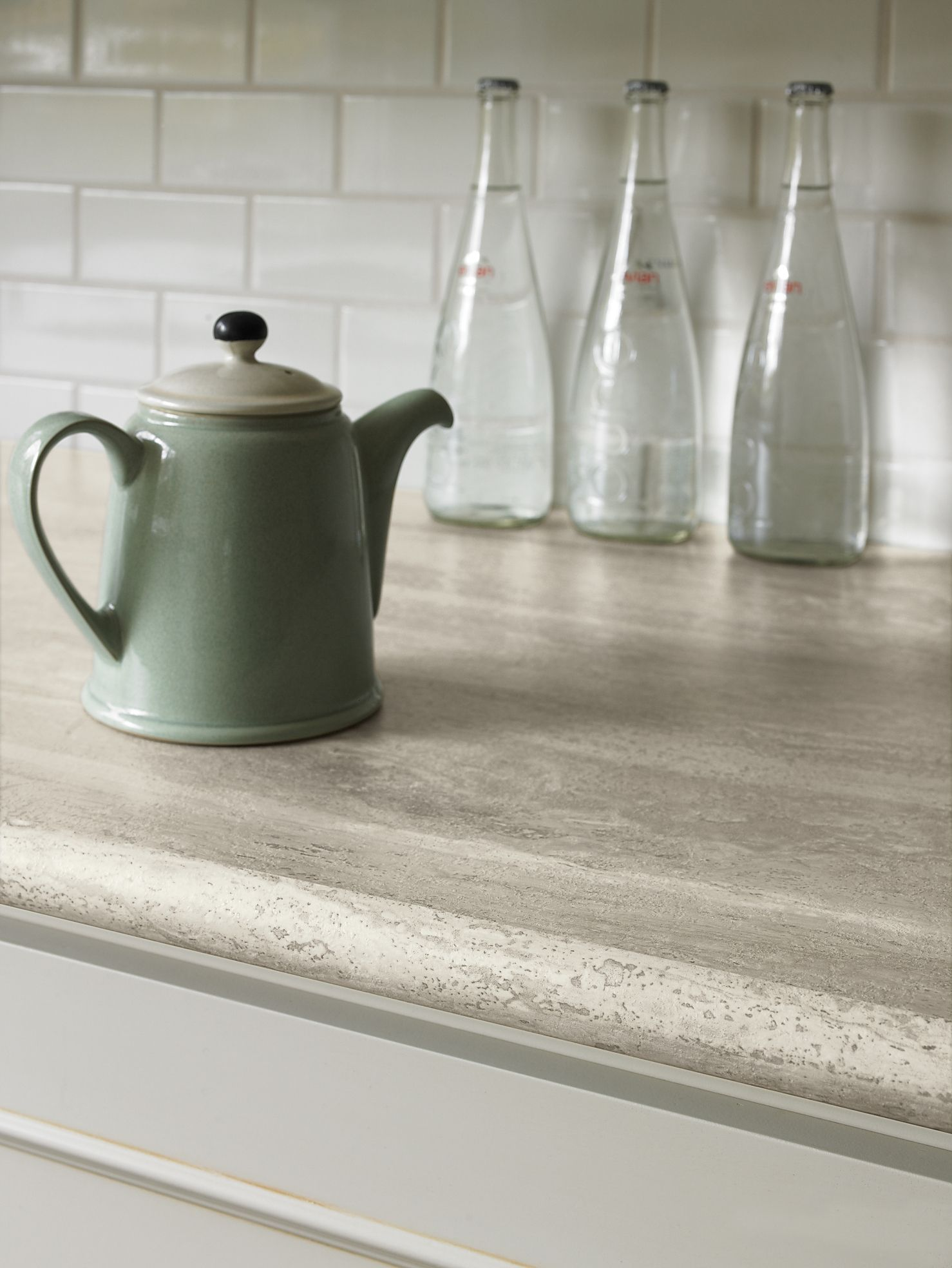 Formica® Travertine Silver #Kitchen #Countertop A more affordable ...