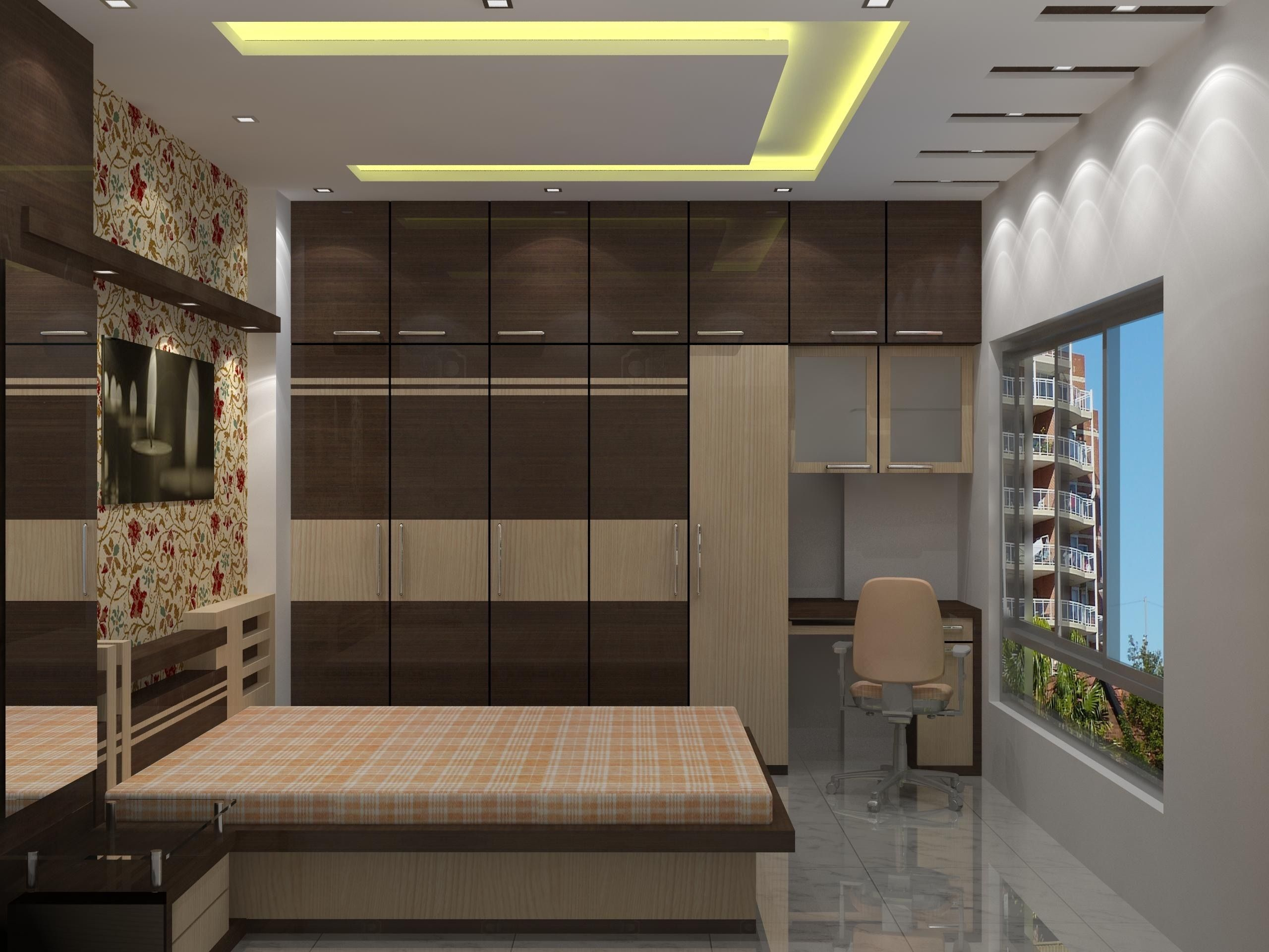 Simple False Ceiling Designs For Small Bedrooms In 2019