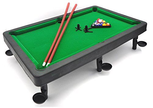 Little Tresures Tabletop Pool Set 8 ball game challenge for your ...