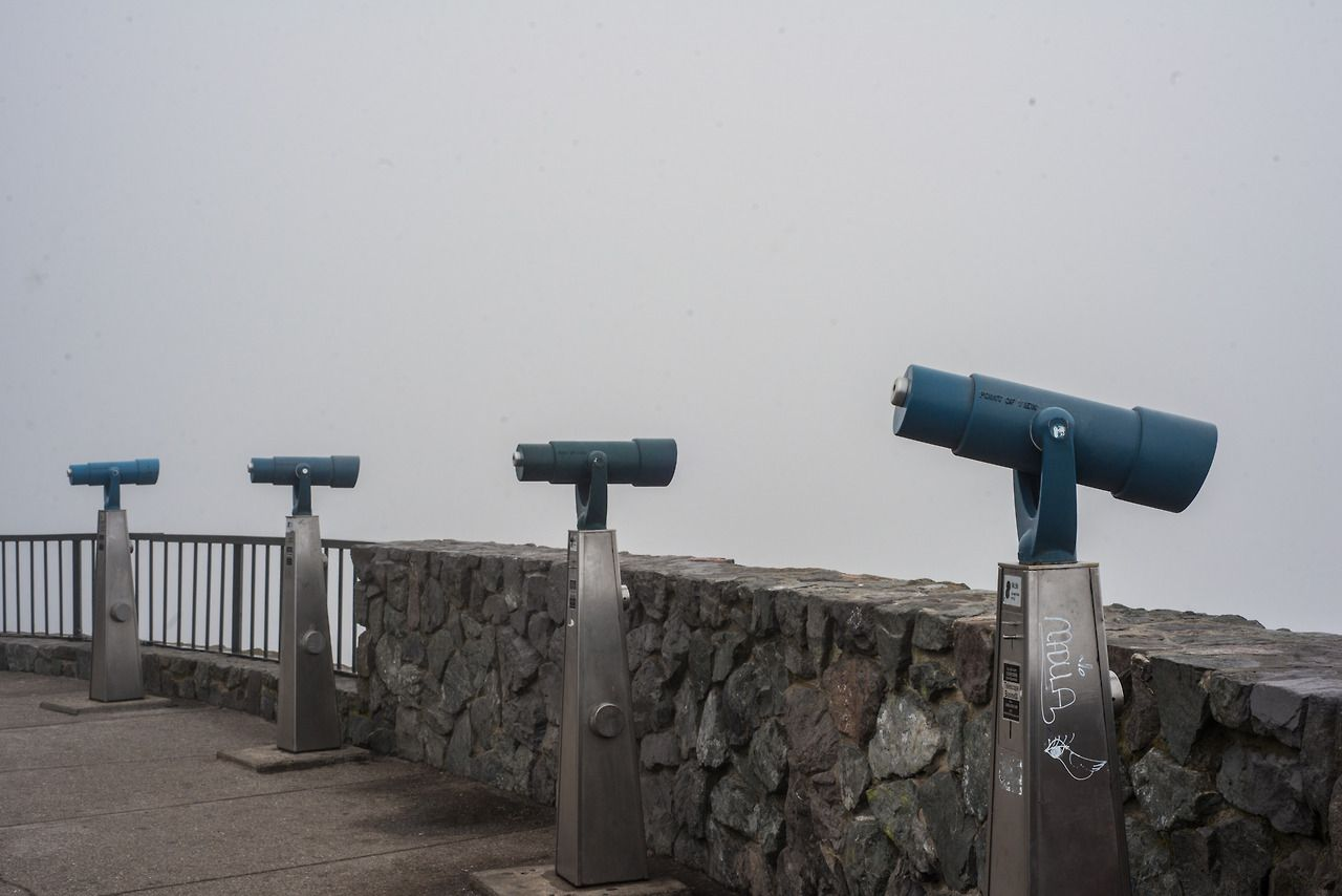Twin Peaks lookout. San Francisco, California