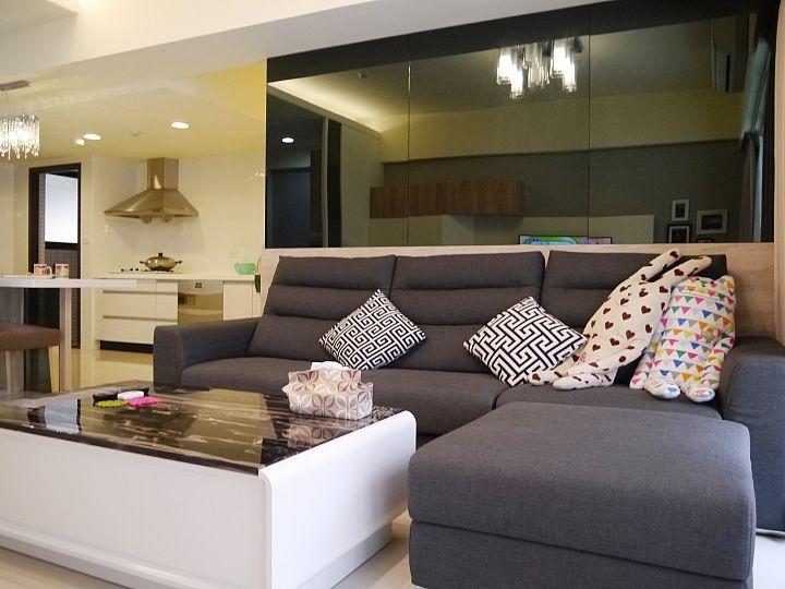 空間設計與裝潢 - *【新屋開箱】現代簡約機能宅*小資裝潢 ...