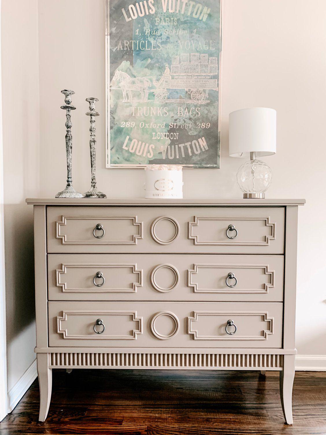 Adrian Accent Chest Furniture makeover, Furniture