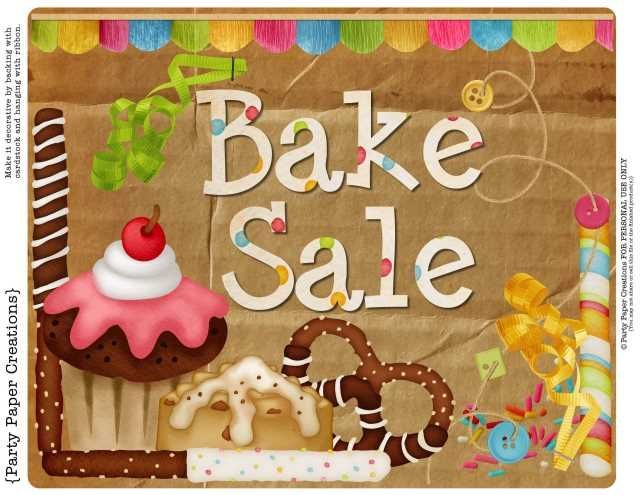 Free Printable Bake Sale Signs Cakepins Com With Images Bake