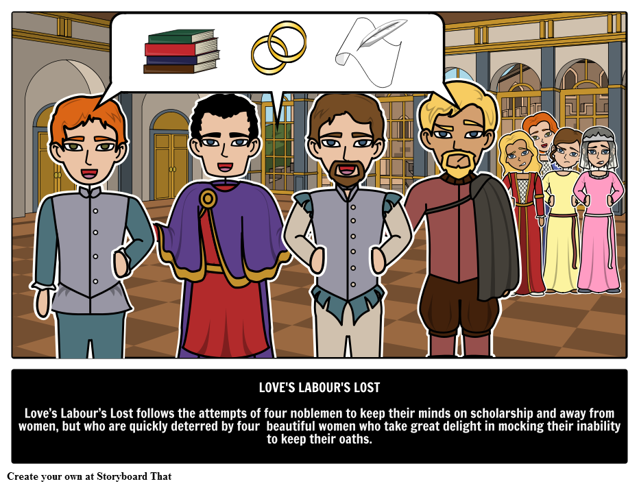 Shakespearean Comedy , Love\'s Labour\'s Lost summary, synopsis ...