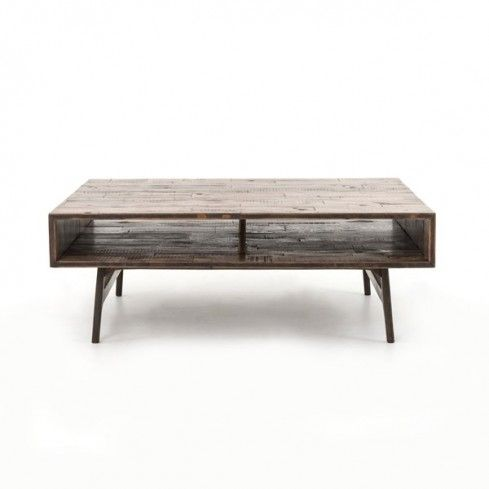 Roble and Oak Coffee Table
