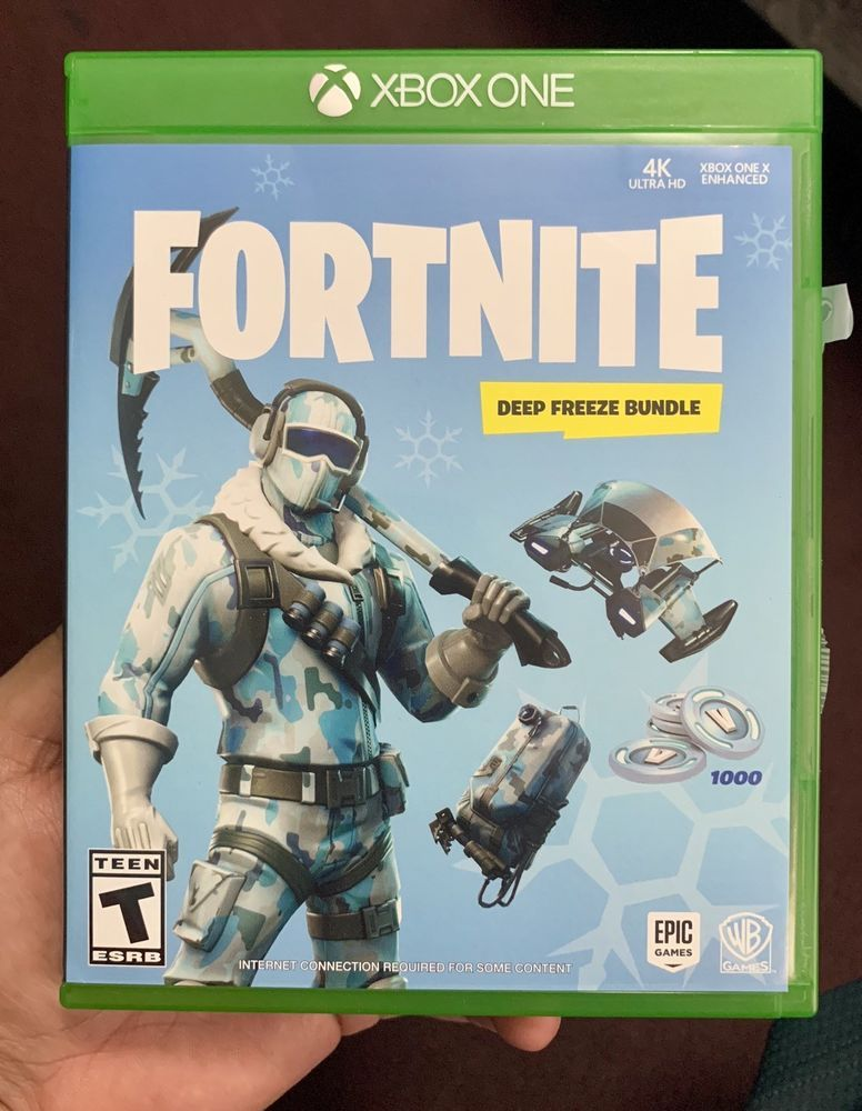 Fortnite Deep Freeze Bundle Xbox One Fortnite