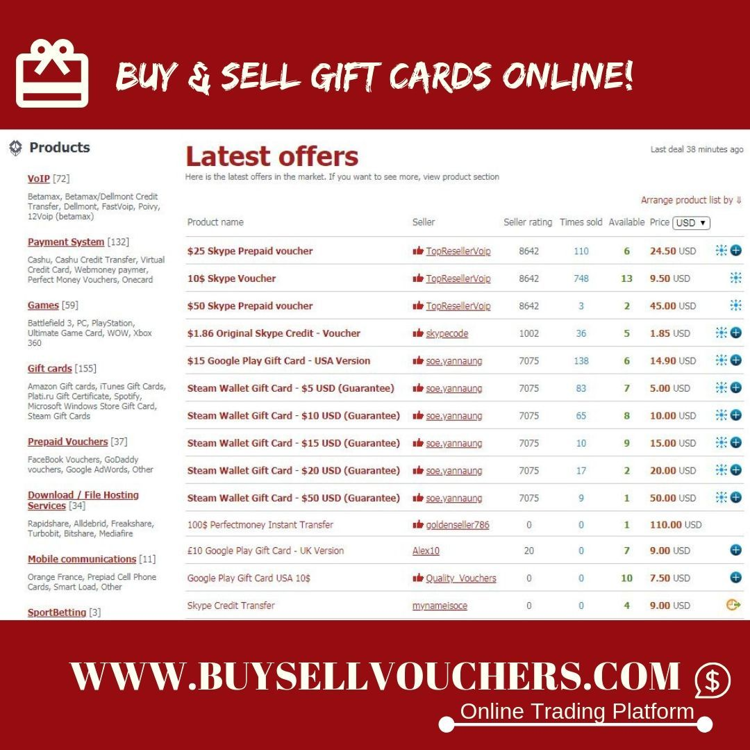 10 Trusted Sites To Sell Gift Cards Online For Cash Instantly In 2017 Check Out Https Egift Sell Gift Cards Sell Gift Cards Online Buy Discounted Gift Cards
