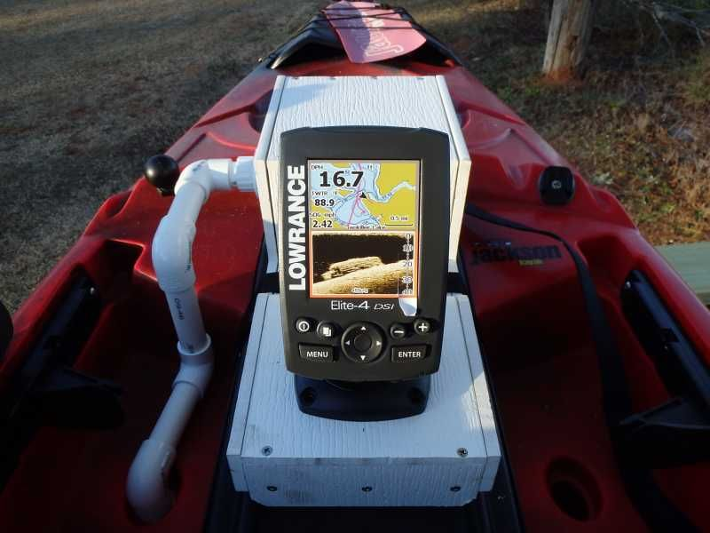 Cudapak battery fish finder transducer all in one for Fish finder battery