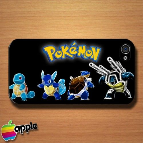Squirtle Pokemon in Case of Fire iPhone