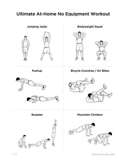 High School Football Home Workout Plan