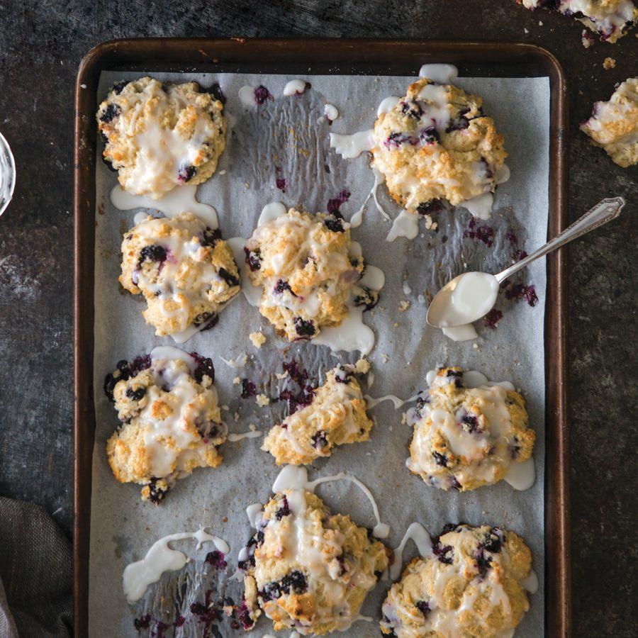 Blueberry Sour Cream Drop Biscuits Taste Of The South Recipe In 2020 Drop Biscuits Sour Cream Biscuits Sour Cream Scones