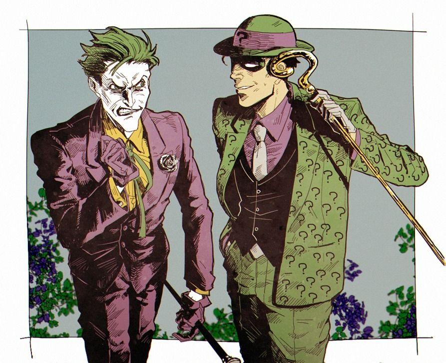 http://joe-kerrs.tumblr.com/image/163310775912 | Joker comic, Gotham villains, Riddler gotham