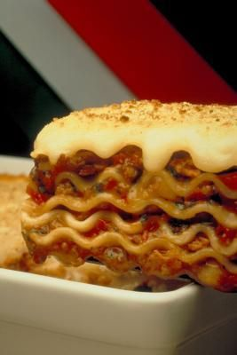 How To Reheat Lasagna In The Oven Livestrong Com Frozen Lasagna Reheating Frozen Lasagna Lasagna In The Oven