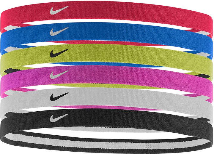 Nike 6 Pk Printed Headbands Must Have Aflink Sports