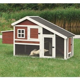 TRIXIE Chicken Coop with a View - Free Shipping Today - Overstock.com - 14244015 - Mobile